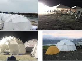 The Bahamas Fyre Festival Turns Into Complete Chaos After People Who Paid $12,000 For Tickets To See Ja Rule Show Up To An Unfinished Campsite
