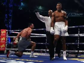 Anthony Joshua Knocking Out Wladimir Klitschko To Unify The Heavyweight Titles Is An Awesome Boxing Moment