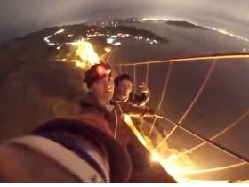 Rowdy Teens Climbing The Golden Gate Bridge Make My Stomach Hurt