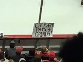 Many People Are Saying Sidney Crosby Pays For Grindr, Which Seems Like A Poor Investment