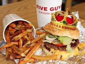 Five Guys Took Down In-N-Out Burger As The Best Burger Joint In America