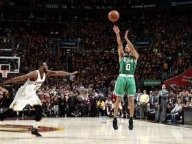 Avery Bradley Hits Another Game Winner In Cleveland To Get The Celtics On The Board
