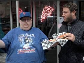 Barstool Pizza Review - Baker's Pizza With Special Guest Frank Fleming AKA Frankie Midnight