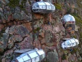 In Peru You Can Stay In Cliffside Camping Pods If You Feel Like Being An Asshole And Dying For No Reason