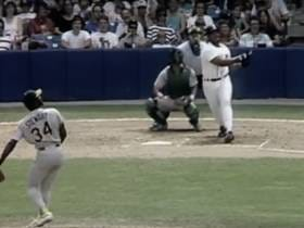 Wake Up With Cecil Fielder Hitting A Home Run Over The Roof At Tiger Stadium (1990)