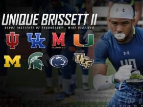 Top College Football Recruit Unique Brissett II Trims His List To Five Schools...Major Red Flag Pops Up: He's Not Actually Real