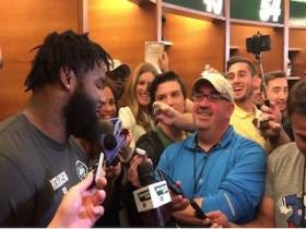 Sheldon Richardson Decided To Take A Shot At Brandon Marshall Out Of The Blue