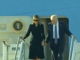 Melania Snubs ANOTHER Hand Holding Attempt By Donald