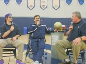 Pardon My Take Behind The Scenes Video With Bob Huggins, Danny Woodhead, And GoodWill Hunting