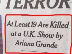 I Don't Want To Tell The New York Times How To Do Their Job But From One Editor In Chief To Another - This Ariana Grande Headline Sucks