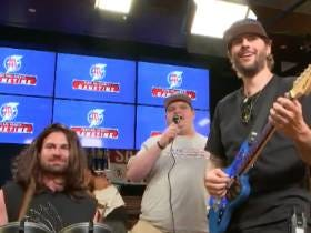 M. Shadows Of Avenged Sevenfold Rocked Out On Barstool Gametime And Glenny Balls Has The Voice Of An Angel Of Death