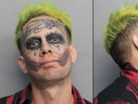 The Miami Joker Arrested For Pointing Guns At Cars