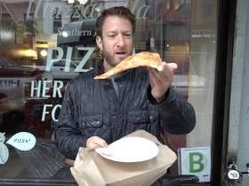 Barstool Pizza Review - Muzzarella Pizza