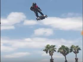 This Video Of A Hoverboard That Can Fly 93 MPH And 10,000 Feet High Better Be Real