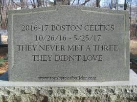 Time To Say Goodbye To The 2016-17 Boston Celtics