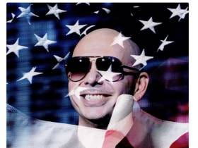 Pitbull With An Understated Memorial Day Tribute