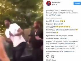 Joel Embiid Chimes In With One Of The Greatest Instagrams Ever Told