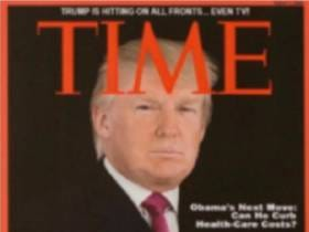 Trump Golf Courses Hang A Completely Fake TIME Magazine Cover Of Trump