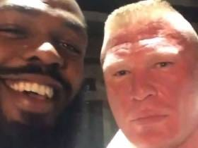 Brock Lesnar And Jon Jones Are Down To Fight Each Other