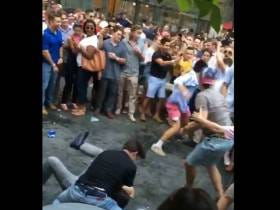 A Couple Of Upstanding Young Professionals Decided To Have A Brawl At Center City SIPS