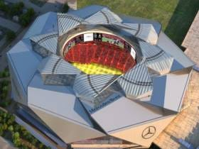 The Falcons New Stadium's Awesome Roof Unfortunately Still Doesn't Really Work