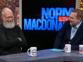 Letterman Casually Popped Into Norm MacDonald Live And The Result Is Comedic Gold