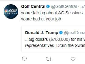 Golf Central Is Not Happy With President Trump
