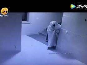 Nothing But Respect To This Burglar Who Tried To Disguise Himself As A Ghost To Sneak Past Security Cameras