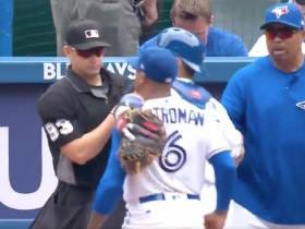 Welcome To The Ump Show: Home Plate Umpire Tosses John Gibbons, Marcus Stroman, And Russell Martin