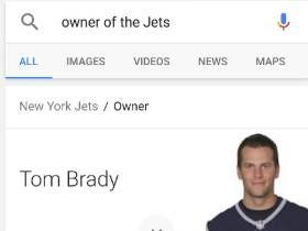 Google Knows Who Owns the Jets