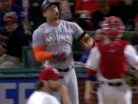 Absolutely LOVE Giancarlo Stanton Dancing On Jason Grilli's Grave After Grilli Showed Him Up