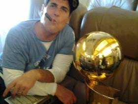 Mark Cuban's Billionaire Cool Guy Prophecy Lives On As He Hits A 90's Night