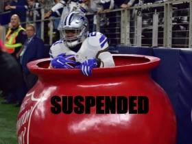 Ezekiel Elliott Suspended The First 6 Games Of The Season For Violating The NFL's Personal Conduct Policy