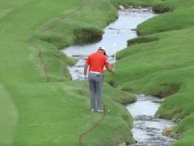 This Shot By Jon Rahm Is Patently Ridiculous