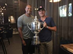 Justin Thomas Hung Out With A Fan Last Night