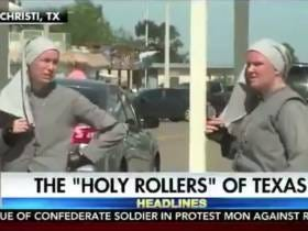 I'd Very Much Like To Join This Crew Of Rollerblading Nuns