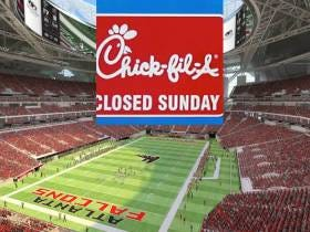The Falcons' New Stadium Has A Chick-Fil-A....That Won't Be Open On Sundays