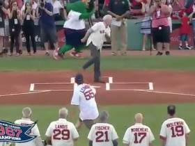 Move Over 50 Cent, The New Worst First Pitch Of All-Time Is A Fastball Right To The Dick