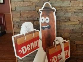 Denny's Doesn't Want You To Think Their New Mascot Looks Like A Turd But Their New Mascot Definitely Looks Like A Turd
