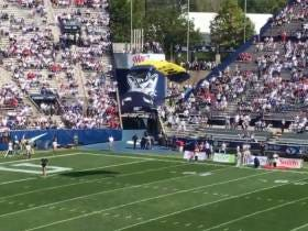 What Could Go Wrong With Parachuting Into A Football Game?