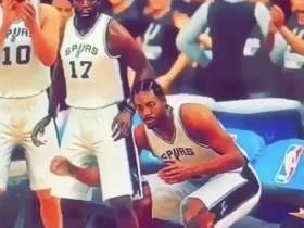 NBA 2K Is Really Showing Off Kawhi Leonard's Impressive Reach