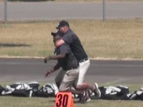 We've Got A Third Grade Youth Football Coaches Fight!  BONUS : They Coach For The Same Team!