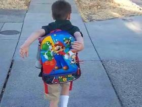 5-Year-Old Tells His Teacher His Backpack Will Explode If He Takes It Off, Reminding Us We Need A Gauntanamo For Minors