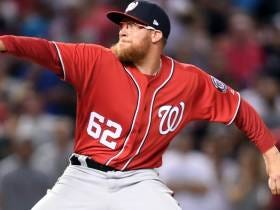 Nationals' Closer Sean Doolittle And Rocket Man