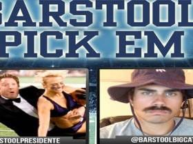 Barstool Pick Em Week 4 With Big Cat, Dave, Hank And Rico