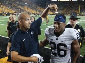 Saquon Barkley Leads The Big 10 In Receiving (Yes Saquon Barkley The Penn State Running Back)