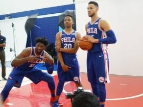 Markelle Fultz Grabbing His Nuts At Sixers Media Day Is A Sign Of All Things To Come