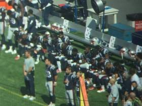 Any Patriots Fan Who Booed Players Kneeling During The Anthem Yesterday Is A Fucking Moron