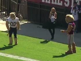 BYU's Mascot Is Potentially The Best Athlete In College Football Right Now