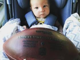 Congrats To Cooper Cousins On The Game Ball From Yesterday's Game!!!
